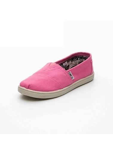 Toms 1Tmsk2014004 Renksiz Kız Çocuk Slip On Ayakkabı Renksiz